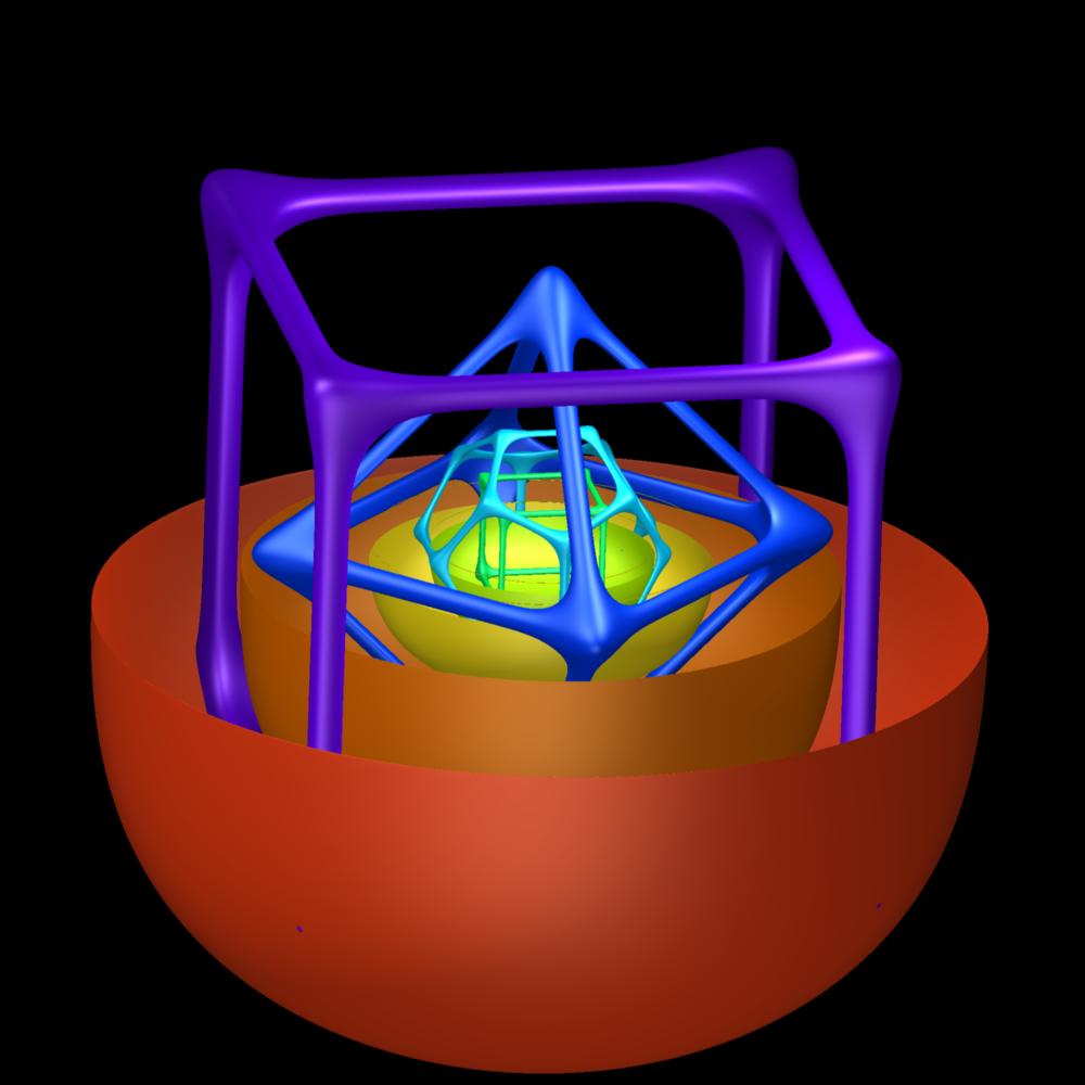 Platonic solids models for pinterest
